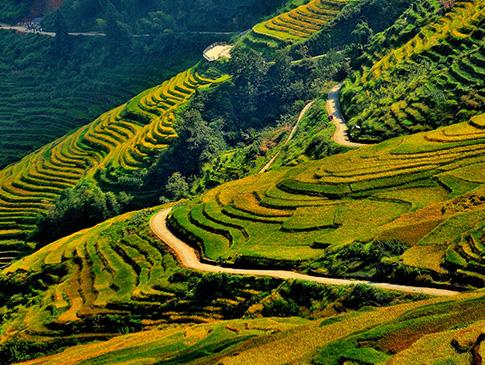桂林龙脊古壮寨